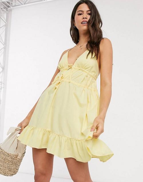 Asos - Robe jaune