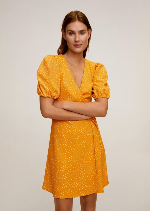 Mango - Robe portefeuille
