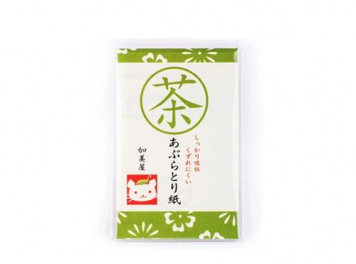 Bijin - Papier matifiant au thé vert