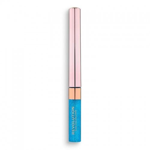 Makeup Revolution - Precious Stone Liquid Glitter Eyeliner Sapphire Haze