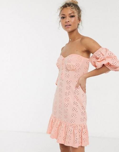 ASOS DESIGN - Robe Bardot