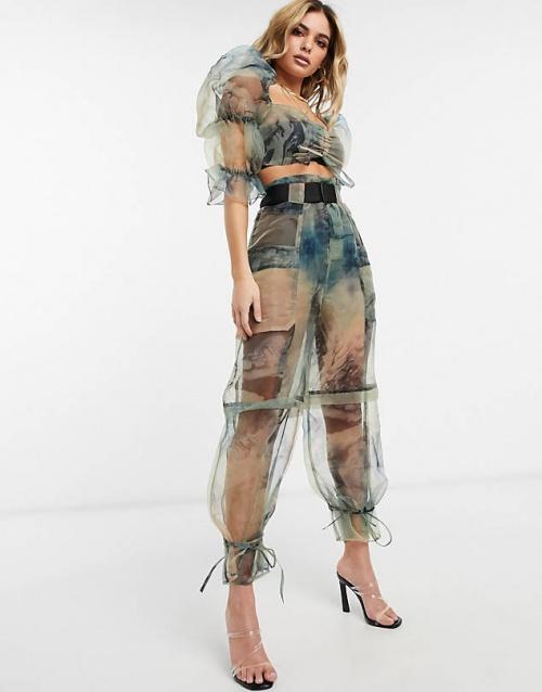 Asos - Pantalon transparent