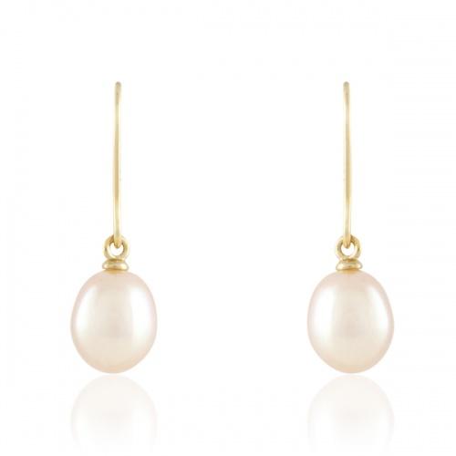 Histoire d'Or - Boucles d'oreilles à perles