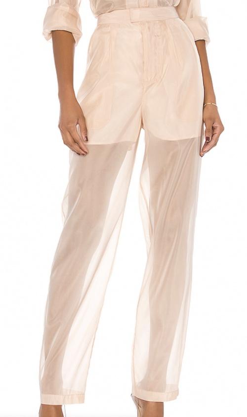 L'Academie - Pantalon transparent