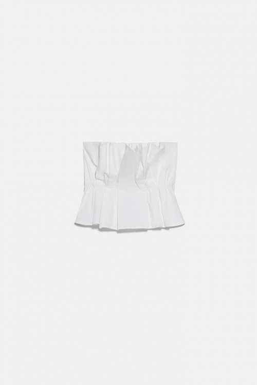 Zara - Top à plis
