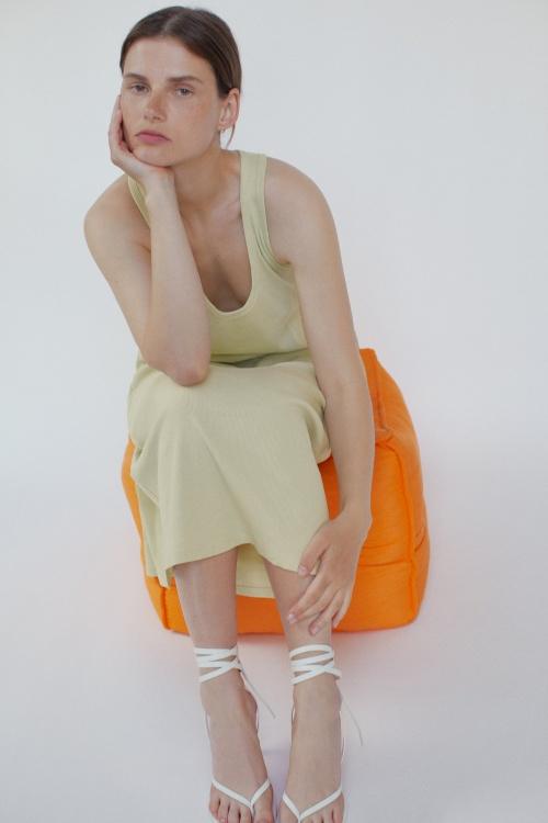 Zara - Robe côtelée