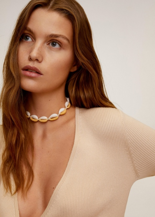 Mango - Collier coquillages