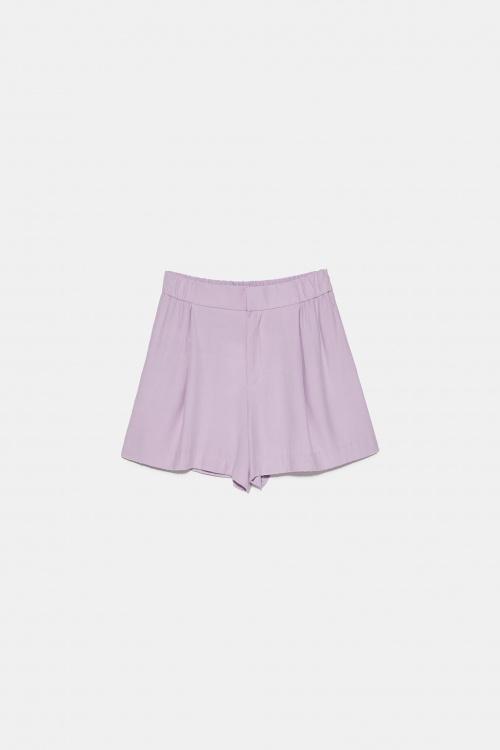 Zara - Short satiné