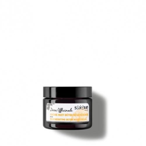 Saeve - Crème Nuit Détox Régénérante – 50 ml