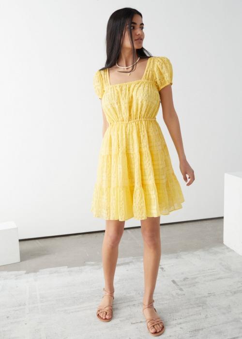 &Otherstories - Robe jaune