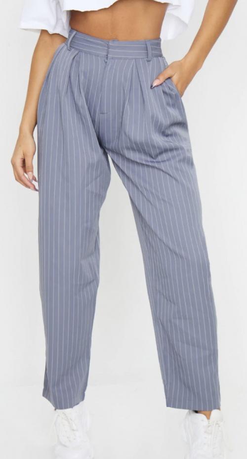 Pretty Little Thing - Pantalon de costume gris