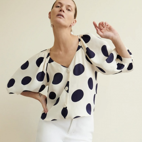 Zara - Top à pois