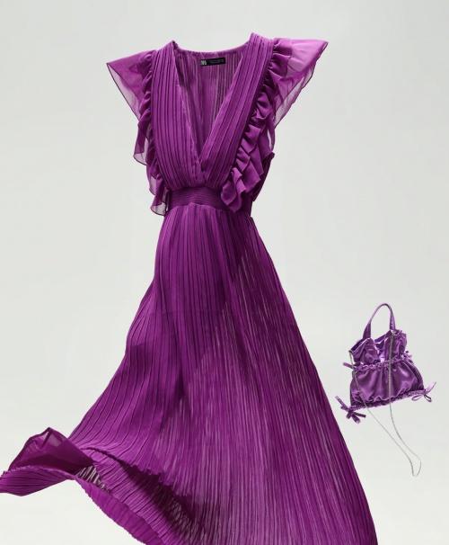 Zara - Robe plissée