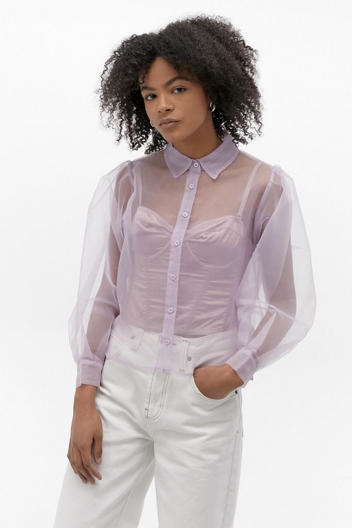 Urban Outfitters - Top lila