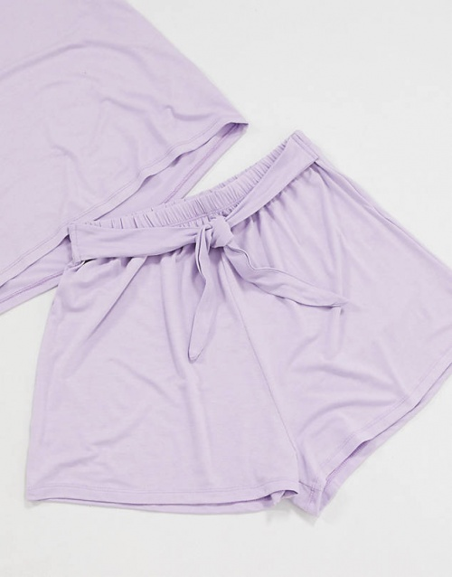 ASOS DESIGN - Short lila