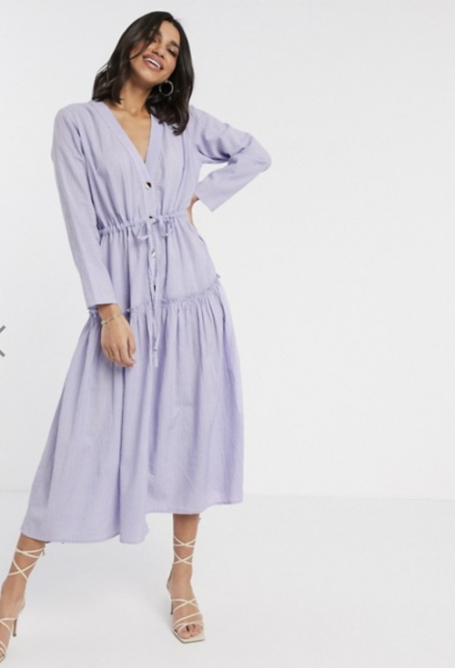 ASOS DESIGN - Robe lila