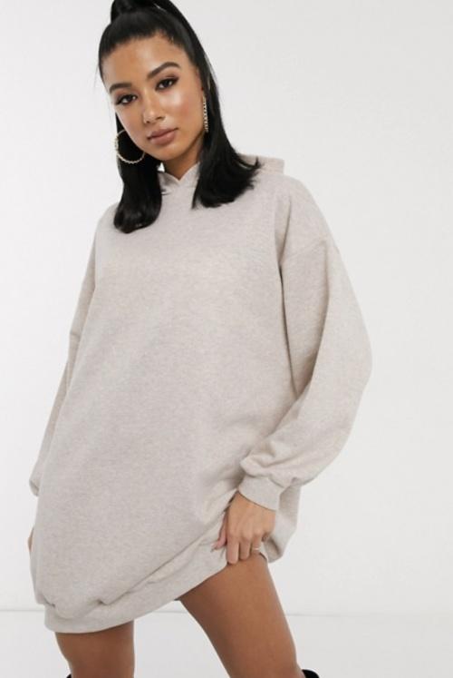 ASOS DESIGN - Robe capuche
