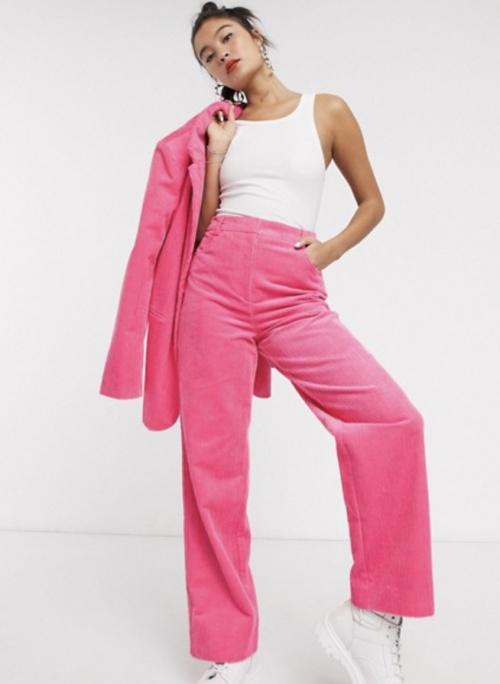 COLLUSION - Pantalon en velours côtelé