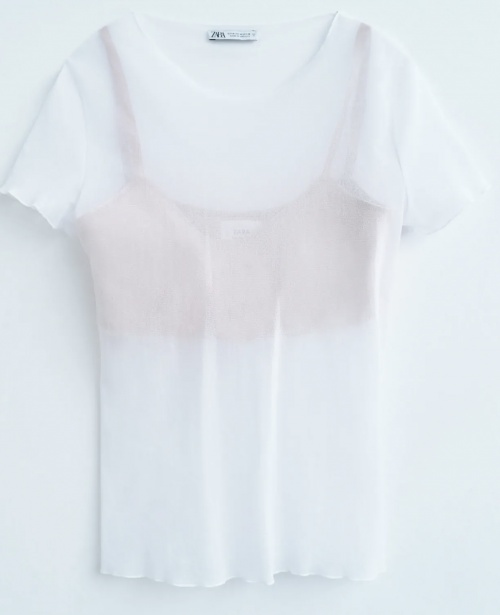 Zara - Top transparent