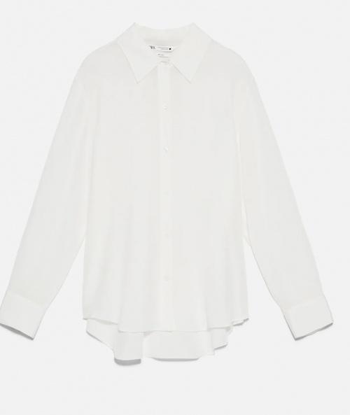 Zara - Chemise en soie