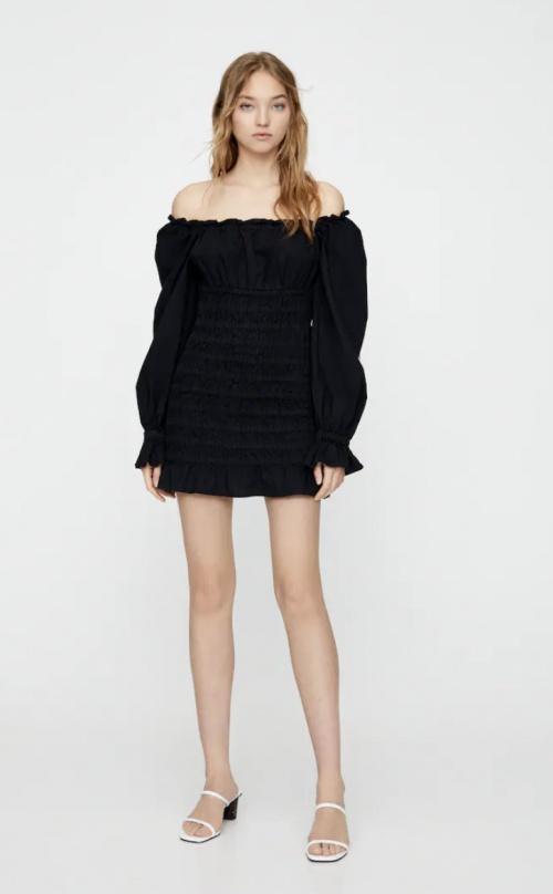 Pull&Bear - Robe bardot