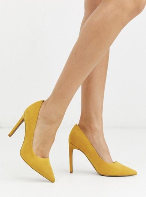 ASOS DESIGN - Escarpins jaunes
