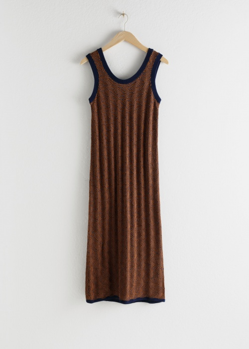 & Other Stories - Robe en maille