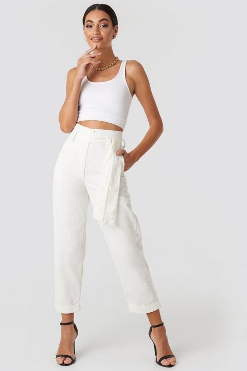 NAKD - Pantalon blanc