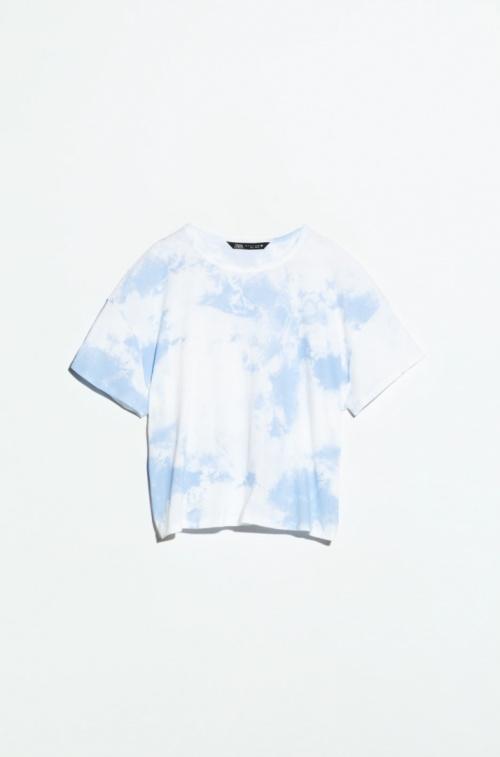 Zara - T-shirt délavé