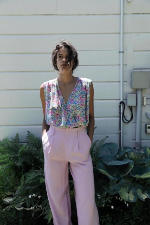 Zara - Pantalon à plis