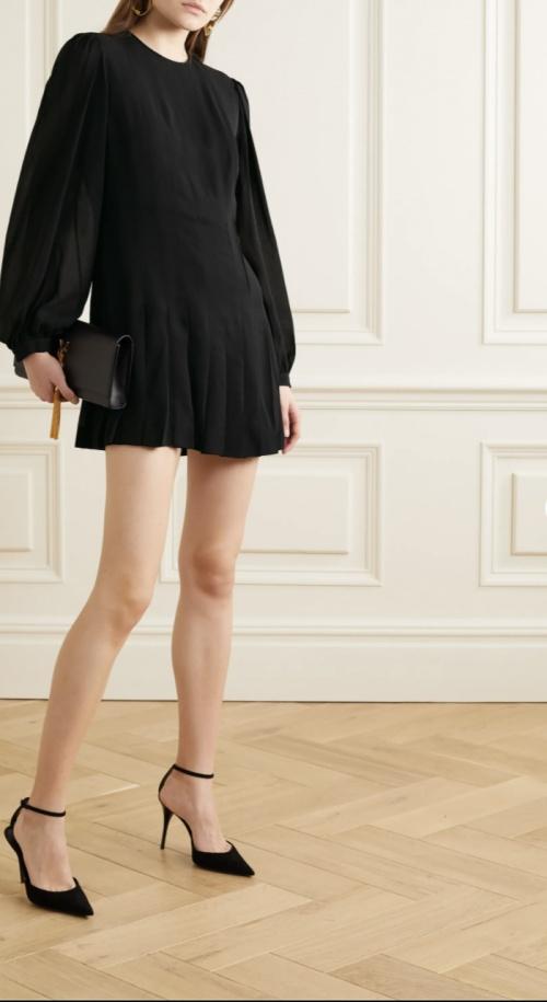 SAINT LAURENT - Robe noire