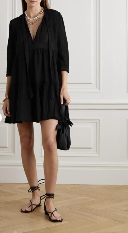 HONORINE - Robe noire