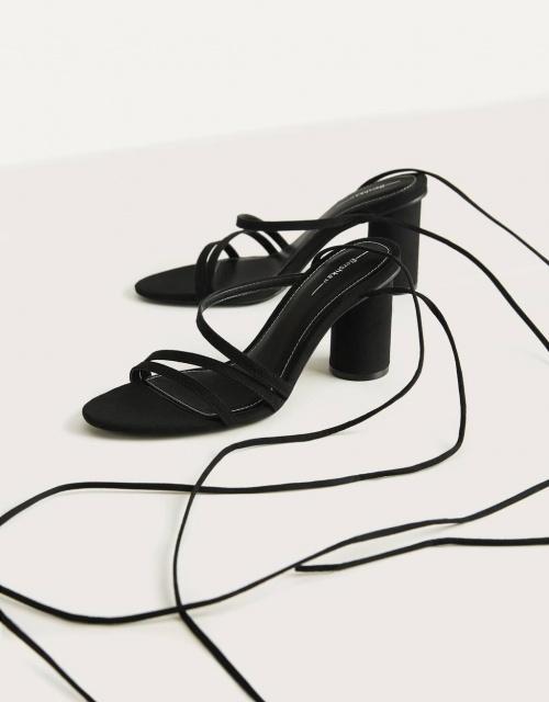 Bershka - Sandales à lacets