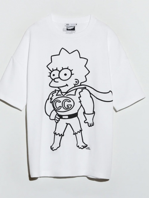 Zara - T-shirt Simpson