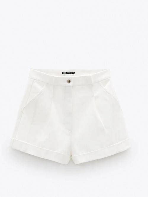 Zara - Short à pinces