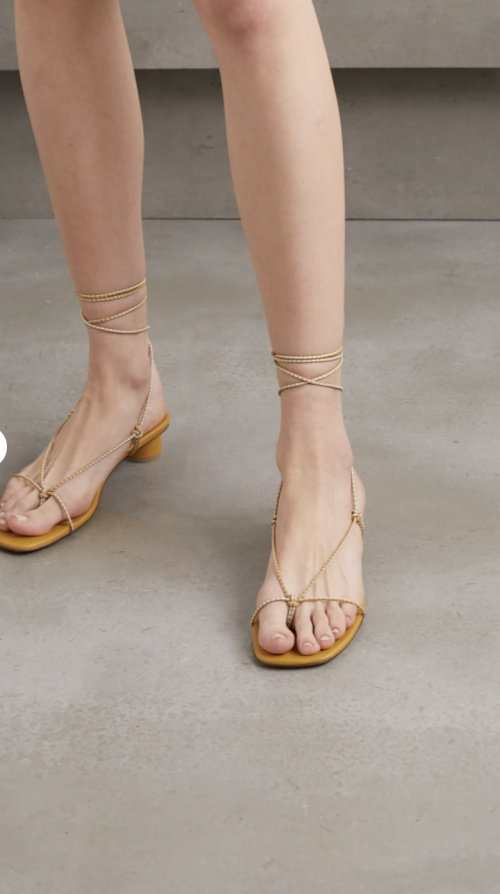 LOQ - Sandales à lacets