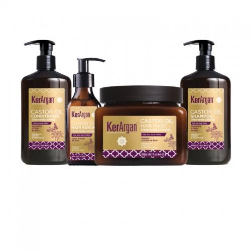 Kerargan - Coffret huile de ricin - 4 pièces