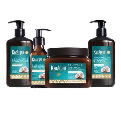 Kerargan - Coffret huile de coco - 4 pièces