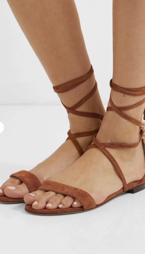 Tabitha Simmons - sandales à lacets