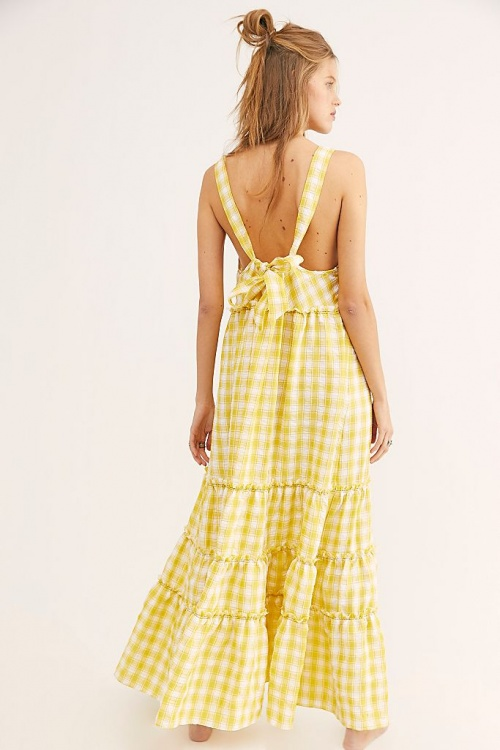 Free People - Robe dos nu