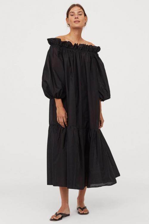 H&M - Robe à épaules dénudées