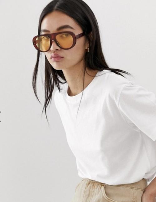 Weekday - Tshirt blanc