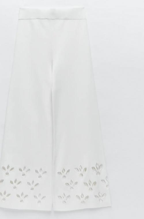 Zara - Pantalon ajourée