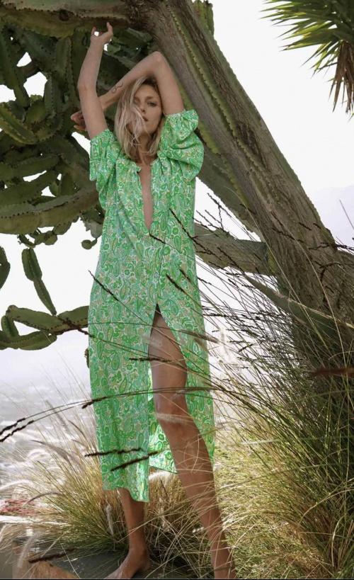 Zara - Robe chemise imprimée