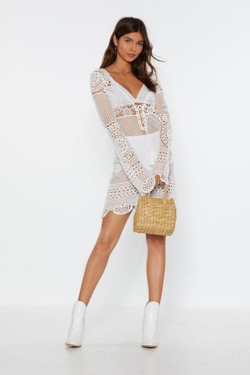Nasty Gal - Robe en crochet