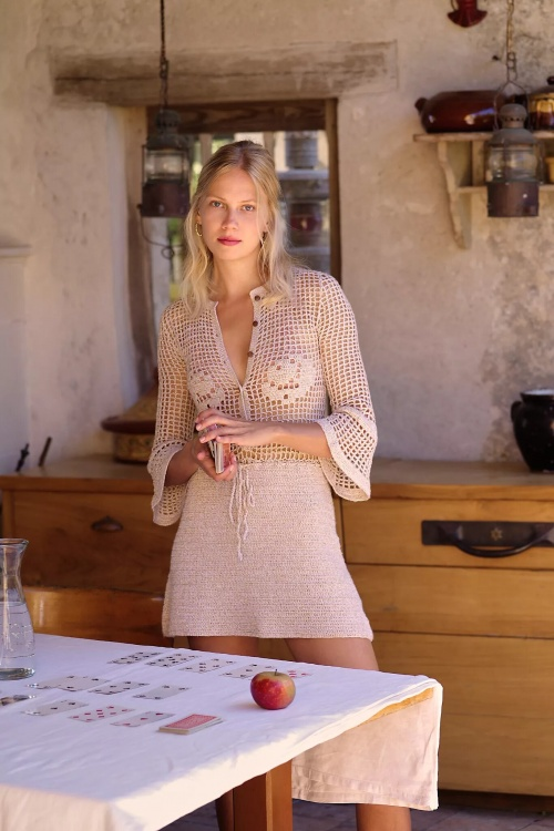 Free People - Robe en crochet