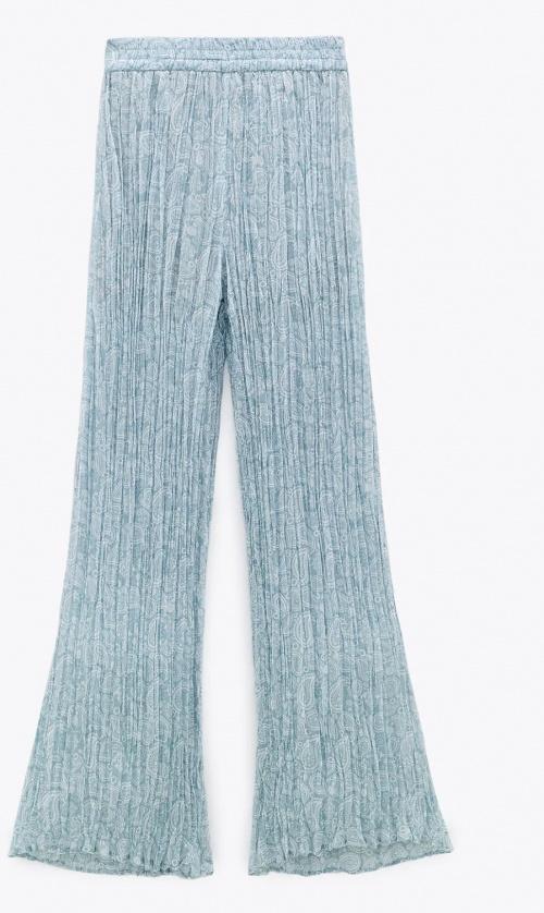 Zara - Pantalon plissé