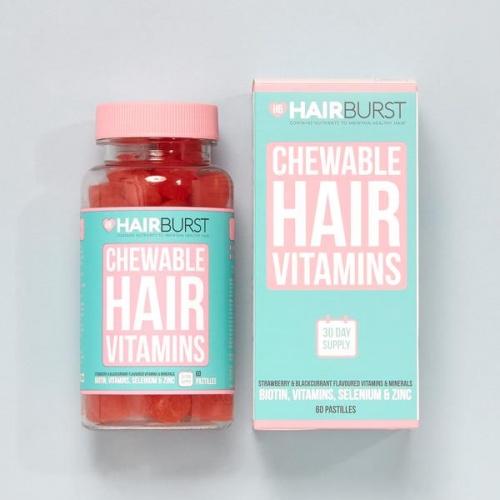 Hairbrust - Vitamines pour les cheveux à mâcher