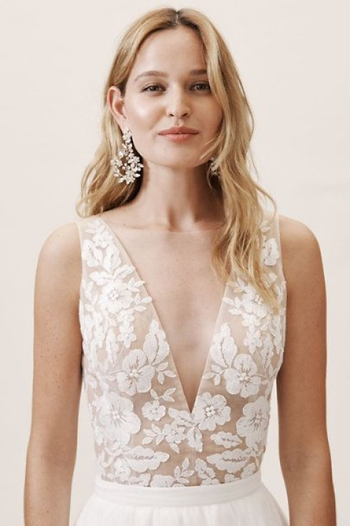 BHLDN - Top en dentelle
