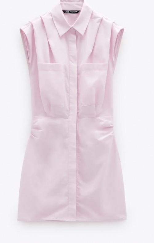 Zara - Robe en popeline